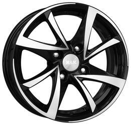 Автомобильный диск Литой K&K Игуана 5,5x13 4/98 ET 10 DIA 58,5 Алмаз черный