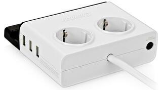 Сетевой фильтр Energizer SPEC2P3UEU2 белый