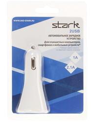 Автомобильное зарядное устройство STARK CC2USBSTWH