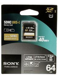 Карта памяти Sony SF64UYT SDXC 64 Гб