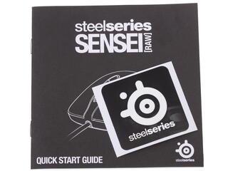 Мышь проводная SteelSeries SENSEI Raw Frost Blue