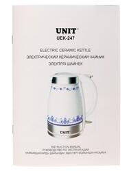 Электрочайник Unit UEK 247 белый