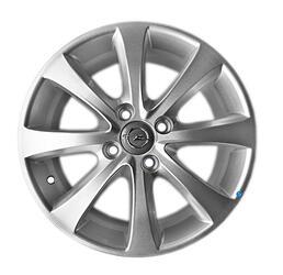 Автомобильный диск литой LegeArtis OPL36 6x15 4/100 ET 43 DIA 56,6 Sil