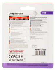 Карта памяти Transcend Compact Flash Compact Flash 16 Гб
