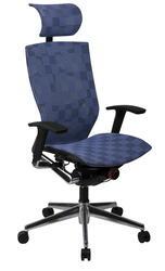 Кресло офисное Бюрократ 811 голубой