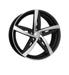 Автомобильный диск  K&K Дольче Вита 7,5x18 5/108 ET 55 DIA 63,35 Алмаз черный