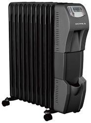 Маслонаполненный радиатор Supra ORS-09TD-1 black