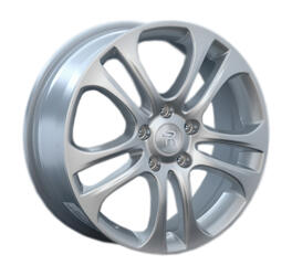 Автомобильный диск литой Replay H33 6,5x17 5/114,3 ET 50 DIA 64,1 Sil