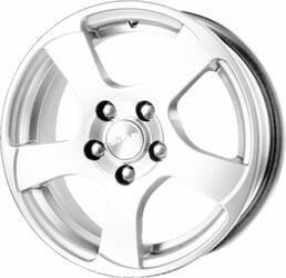 Автомобильный диск литой Скад Акула 5,5x14 4/114,3 ET 39 DIA 66,1 белый