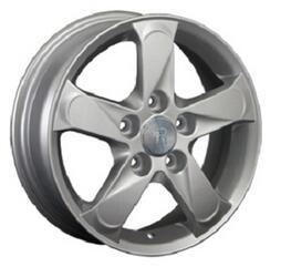 Автомобильный диск литой Replay MZ10 6x15 5/114,3 ET 50 DIA 67,1 Sil