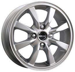 Автомобильный диск Литой K&K Авион-Дэу 5,5x14 4/100 ET 49 DIA 56,5 Блэк платинум