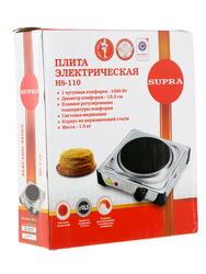 Плитка электрическая Supra HS-110 черный