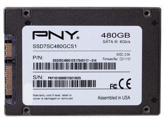 480 ГБ SSD-накопитель PNY CS1111 [SSD7CS1111-480-RB]