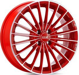 Автомобильный диск Литой OZ Racing 35 Anniversary 7x16 4/100 ET 37 DIA 68 Red + Diamond Cut