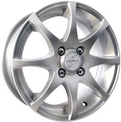Автомобильный диск Литой K&K Полярис 5,5x14 4/100 ET 38 DIA 67,1 Сильвер