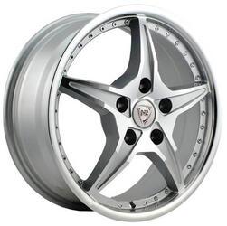 Автомобильный диск литой NZ SH657 6,5x16 5/105 ET 39 DIA 56,6 SF