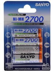 Аккумулятор Sanyo HR-3U-2700-4BP 2700 мАч