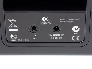 Док станция Logitech Pure-Fi Express Plus розовый