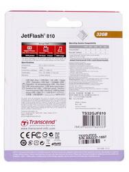 Память USB Flash Transcend JetFlash 810 32 Гб