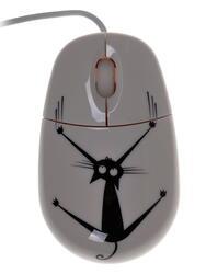 Мышь проводная CBR Crazy Cat