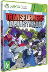 Игра для Xbox 360 Transformers: Devastation