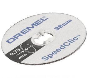 Насадки DREMEL SPEED CLIC SC409 2615S409JB
