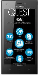 """4.5"""" Смартфон Qumo Quest 456 4 ГБ черный"""