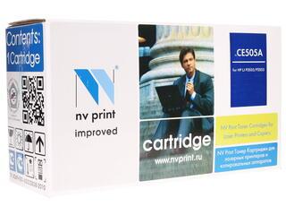 Картридж лазерный NV Print CE505A