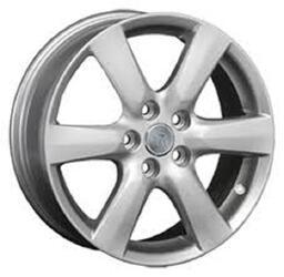 Автомобильный диск литой Replay TY24 7x17 5/114,3 ET 45 DIA 60,1 Sil