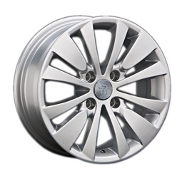 Автомобильный диск литой Replay PG54 7x16 4/108 ET 26 DIA 65,1 Sil