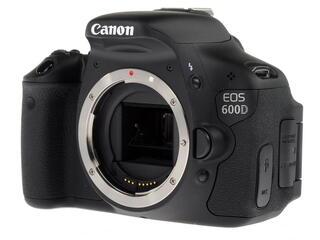 Зеркальная камера Canon EOS 600D Body черный