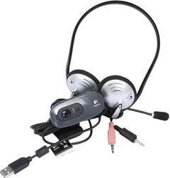 Веб-камера Logitech HD Webcam C270h + гарнитура H110