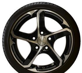 Автомобильный диск Литой Скад Аллигатор 6x15 4/100 ET 38 DIA 67,1 Алмаз