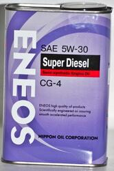 Моторное масло ENEOS SUPER Diesel 5W30 OIL1334