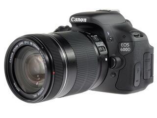 Зеркальная камера Canon EOS 600D Kit 18-135mm черный