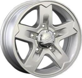 Автомобильный диск Литой Replay SZ2 5,5x15 5/139,7 ET 25 DIA 108,1 Sil