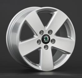 Автомобильный диск литой Replay SK12 7x16 5/105 ET 25 DIA 106,1 Sil