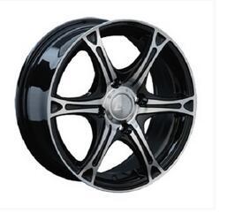 Автомобильный диск Литой LS 131 7x16 5/114,3 ET 45 DIA 73,1 BKF