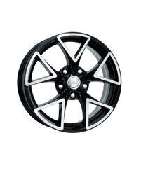 Автомобильный диск литой K&K Сочи 6,5x16 5/114,3 ET 52,5 DIA 67,1 Алмаз черный