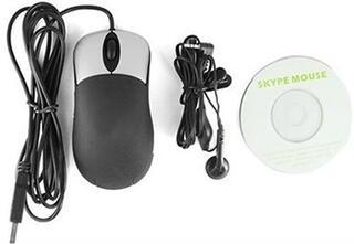 Мышь проводная Optical Skype Mouse