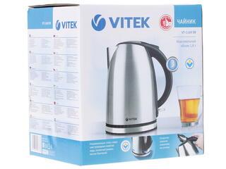 Электрочайник Vitek VT-1169 серебристый