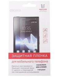 "4.5""  Пленка защитная для смартфона Highscreen Zera S Power"