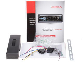 Автопроигрыватель Supra SCD-5001DCU
