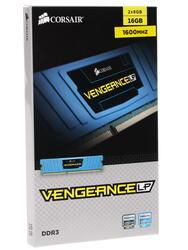 Оперативная память Corsair Vengeance LP [CML16GX3M2A1600C10B] 16 Гб