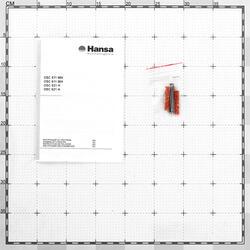 Вытяжка подвесная Hansa OSC 611 WH белый
