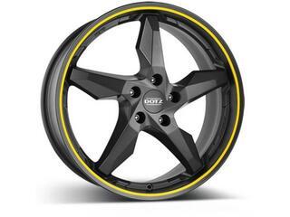 Автомобильный диск Литой Dotz Touge 8x18 5/100 ET 32 DIA 60,1 Graphite
