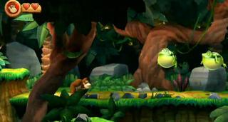 Игра для 3DS Donkey Kong Country Returns 3D