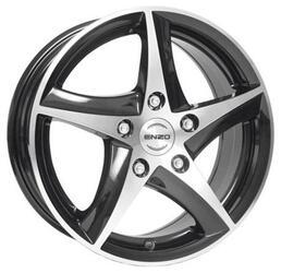 Автомобильный диск Литой Enzo 101 6,5x15 4/108 ET 25 DIA 65,1 Dark