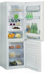 Холодильник с морозильником Whirlpool WBV 3387 NFC W белый