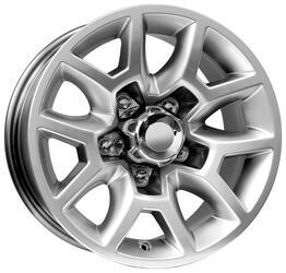 Автомобильный диск  K&K Калахари 7,5x16 5/139,7 ET 2 DIA 108,5 Сильвер